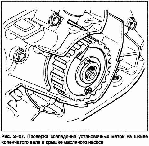 Фото №21 - в какую сторону открутить болт шкива коленвала ВАЗ 2110